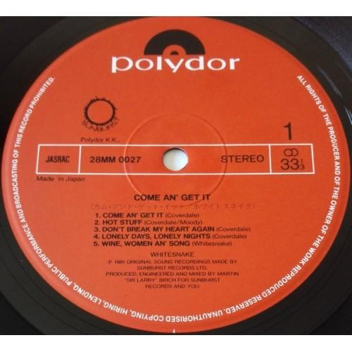 Картинка  Виниловые пластинки  Whitesnake – Come An' Get It / 28MM 0027 в  Vinyl Play магазин LP и CD   09868 3