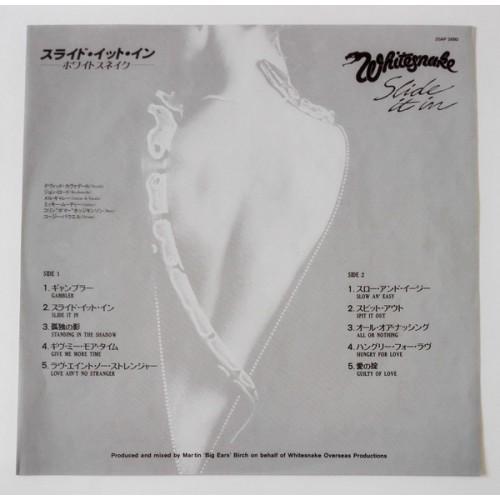 Картинка  Виниловые пластинки  Whitesnake – Slide It In / 25AP 2680 в  Vinyl Play магазин LP и CD   09837 2